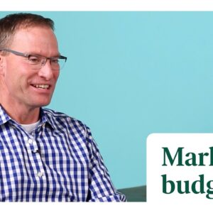 The importance of marketing on a budget
