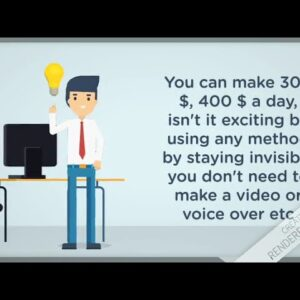 The Invisible Method(earn online easily)