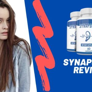 Synapse XT Pills Review - Active Ingredients For Tinnitus Relief |Does It Really Help Cure Tinnitus?