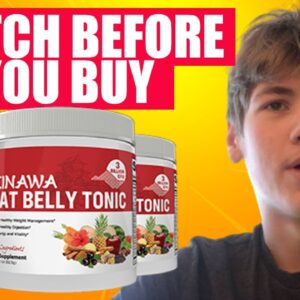Okinawa Flat Belly Tonic Review - WATCH THE TRUTH About Okinawa Flat Belly Tonic Supplement