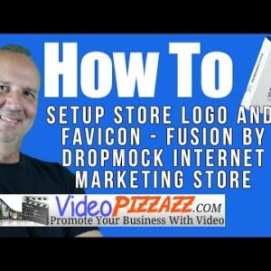How To Setup Store Logo and Favicon - Fusion by DropMock Internet Marketing Store
