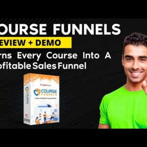 Course funnels Review and Demo💝 | passive income generator | Tekniforce