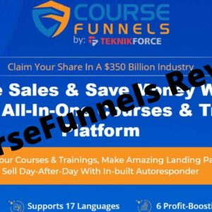 Coursefunnels review | The Best tool to go online and Get 15x MoreSales & Profits.