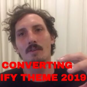 Best Converting Shopify Theme 2019 - Testimonial Video for Booster Theme by Kirk
