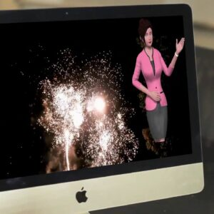 Video Builder Animated Video in a DropMock Video
