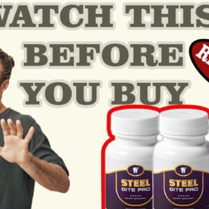 Steel Bite Pro Review ❌Watch before you Buy ⚠️Steelbite Review[2020]