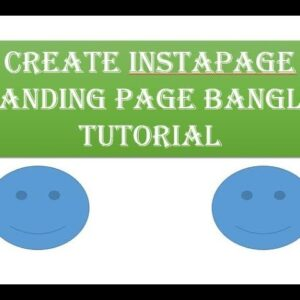 How to create a landing page in instapage || instapage easy Bangla Tutorial