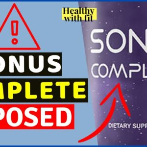 Sonus Complete Review 🚫 Must Watch Before Buying Sonus Complete! Sonus Complete For Tinnitus Reviews