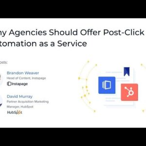 Why Agencies Should Offer Post-Click Automation as a Service