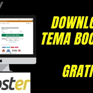 DOWNLOAD TEMA BOOSTER SHOPIFY GRÁTIS (DOWNLOAD FREE BOOSTER SHOPIFY THEME)