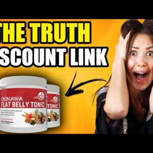 Okinawa Flat Belly Tonic Review ❌DOES IT WORTH? Okinawa Flat Belly Tonic Reviews!