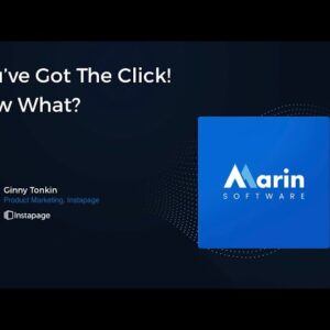 You Got the Click! Now What