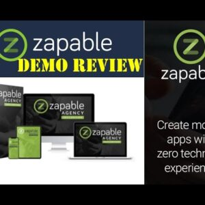 Zapable Demo Review - Instant Mobile App Maker Agency Edition