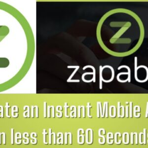 Zapable Review   The Most Powerful Instant Mobile App Builder 2021