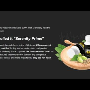 Serenity Prime Review 2021!!! - What are the Best Supplements to Take for Tinnitus???