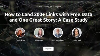 How to Land 200+ Links with Free Data and One Great Story